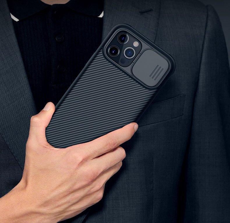 Etui z Osłoną Aparatu + Szkło do iPhone 12 Mini Waga produktu z opakowaniem jednostkowym 0.2 kg