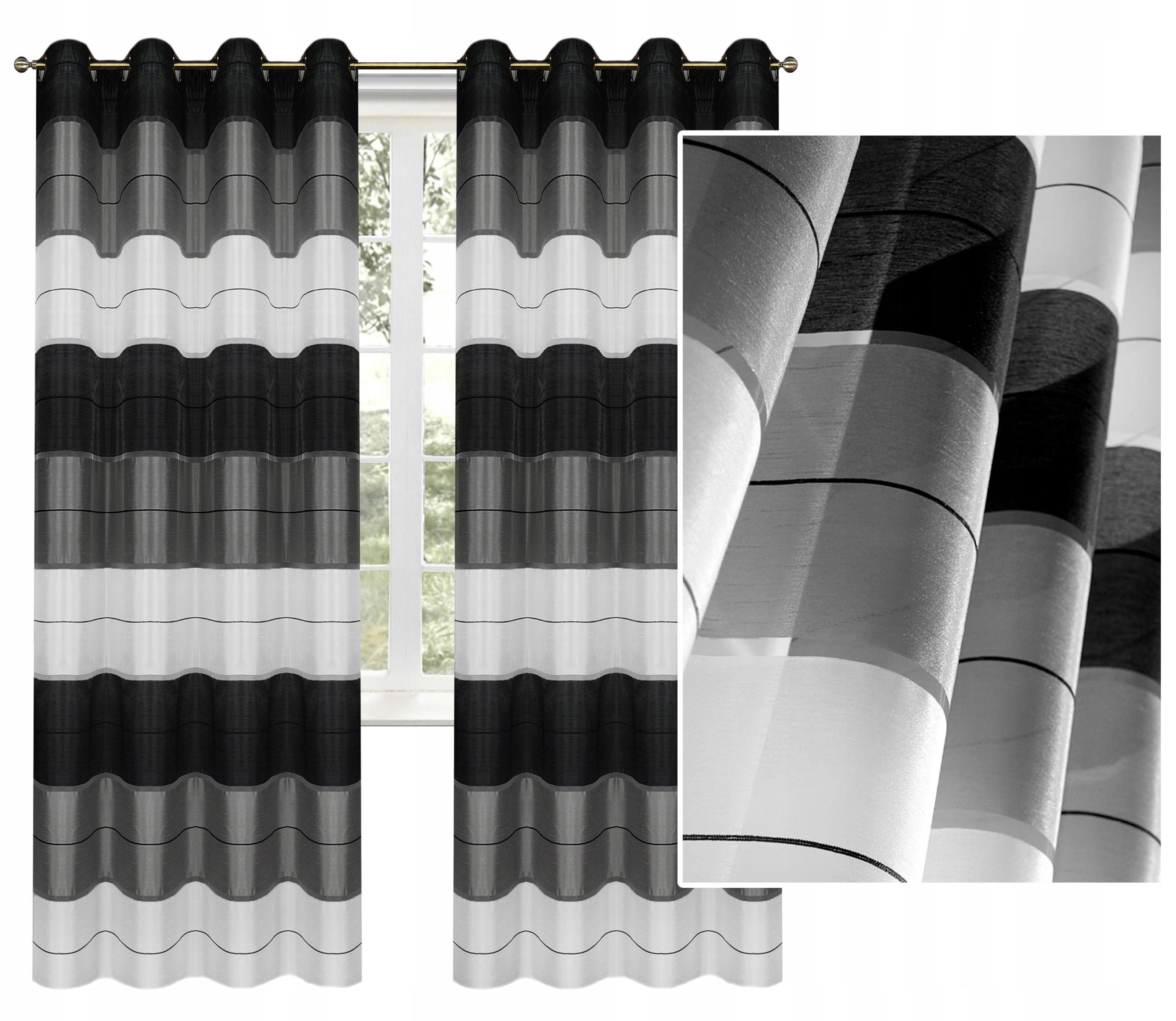 ШТОРЫ Готовые шторы, завеса В ТОЛСТЫЕ РЕМНИ 145x250