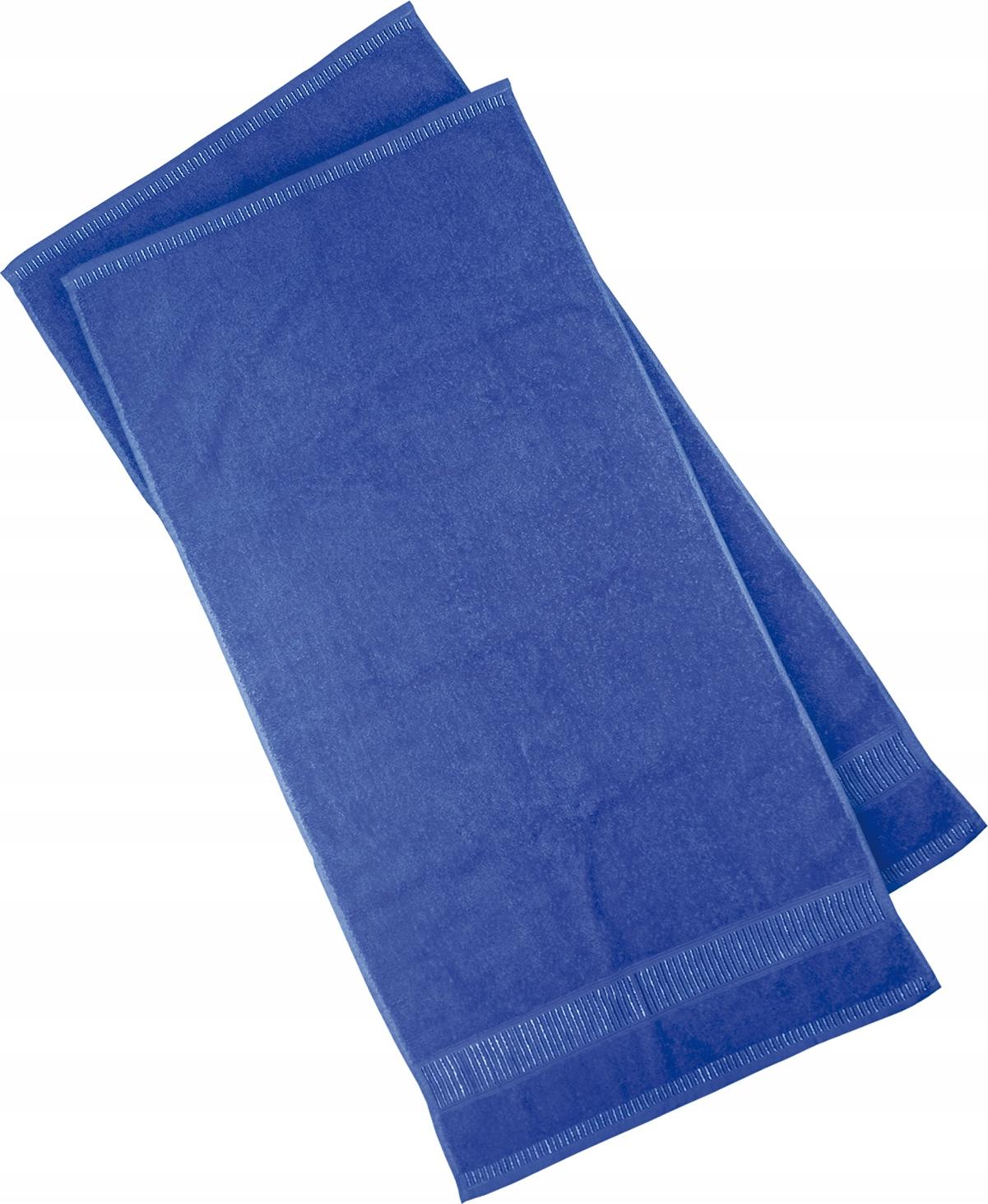 Полотенце махровое 500 50x100см темно-синее