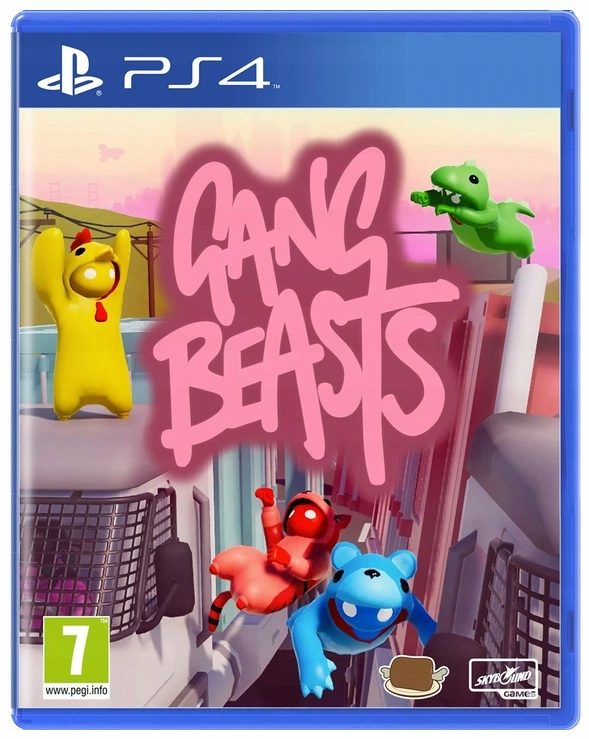 Gang Beasts Ps4 Nowa Stan Nowy 9379124291 Allegro Pl