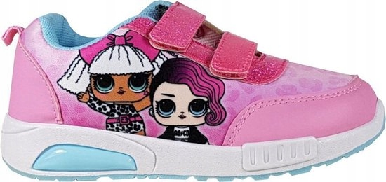 Svetloružové topánky LOL, veľkosť 35