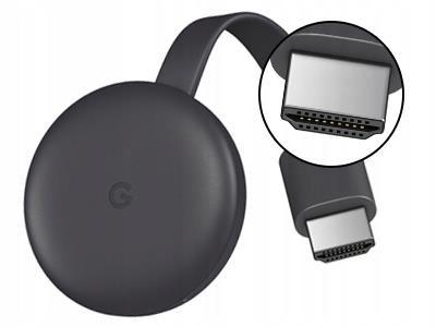 Google Chromecast 3 Smart TV Full HD поток Wi-Fi