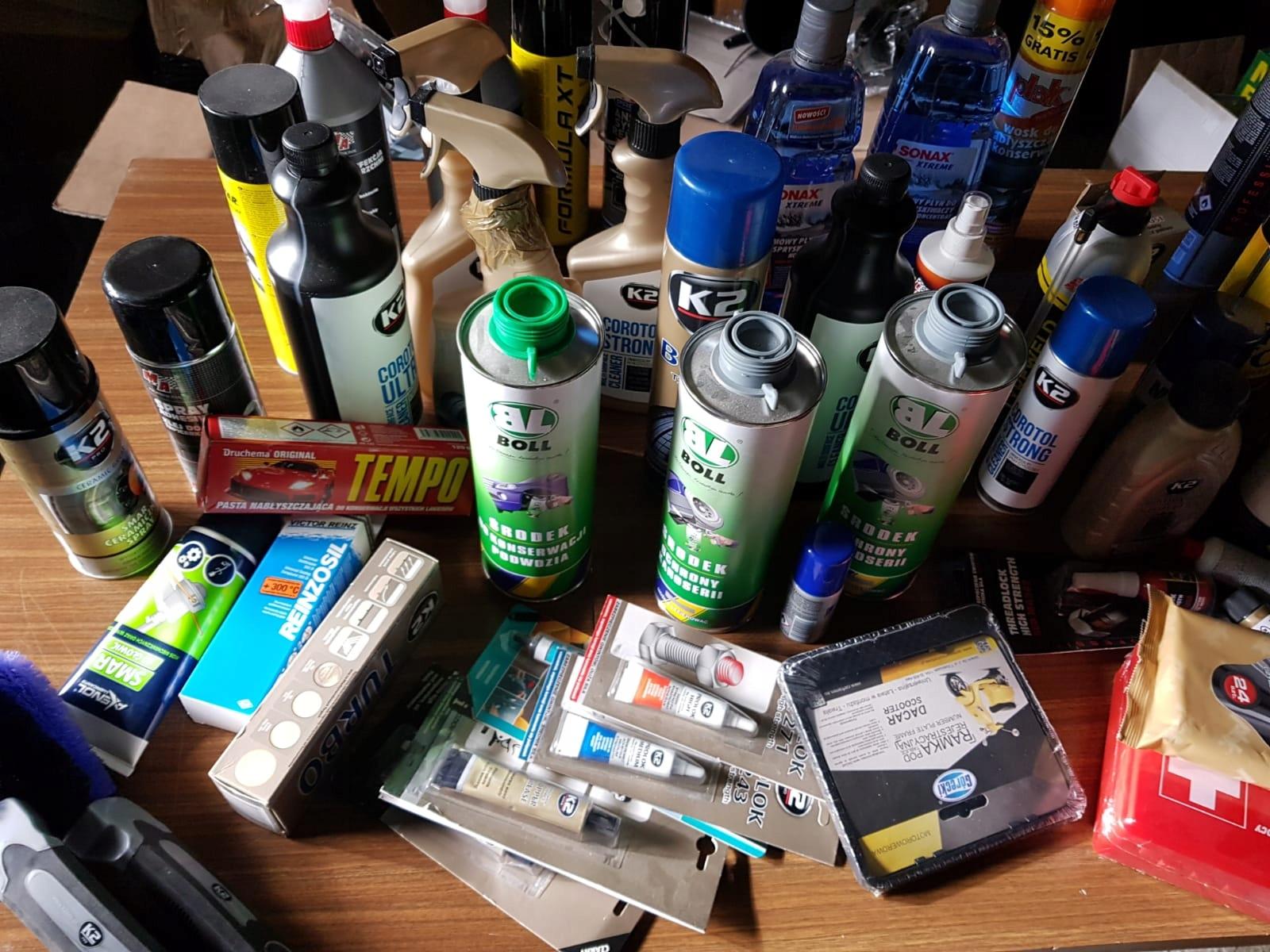 chemia, kosmetyki samochodowe hurt / wyprzedaż