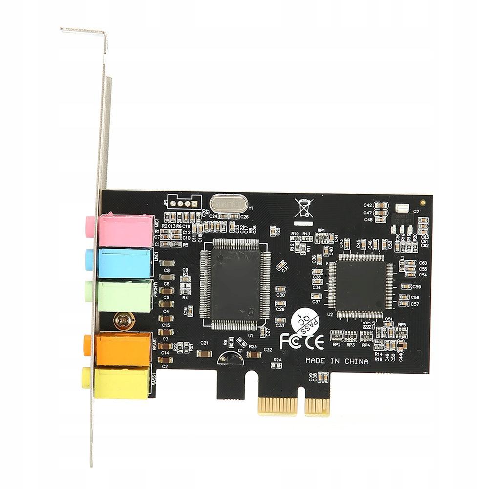 Купить звуковая карта PCI-E card на Otpravka - цены и фото - доставка из Польши и стран Европы в Украину.