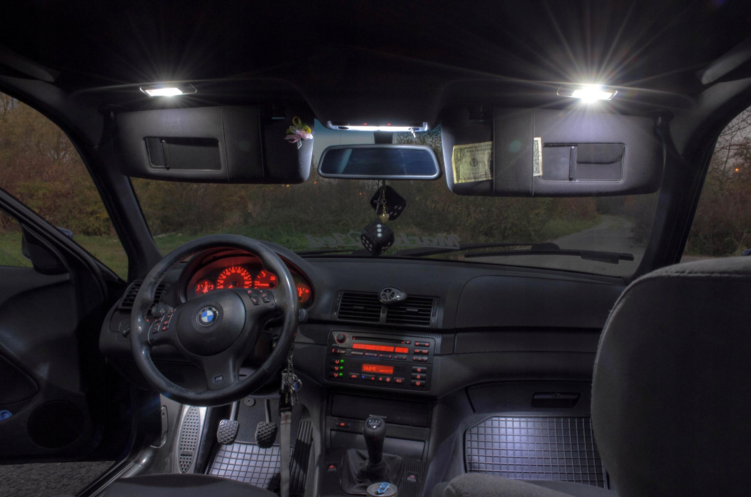 BMW E60 - Zestaw Oświetlenie wnętrza LED! VIP Typ żarówki Zestawy