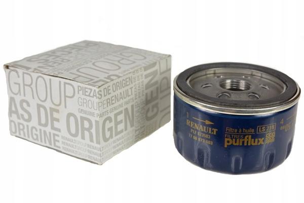 renault фильтр масла оригинал 7700274177 кол-во в упак 6433