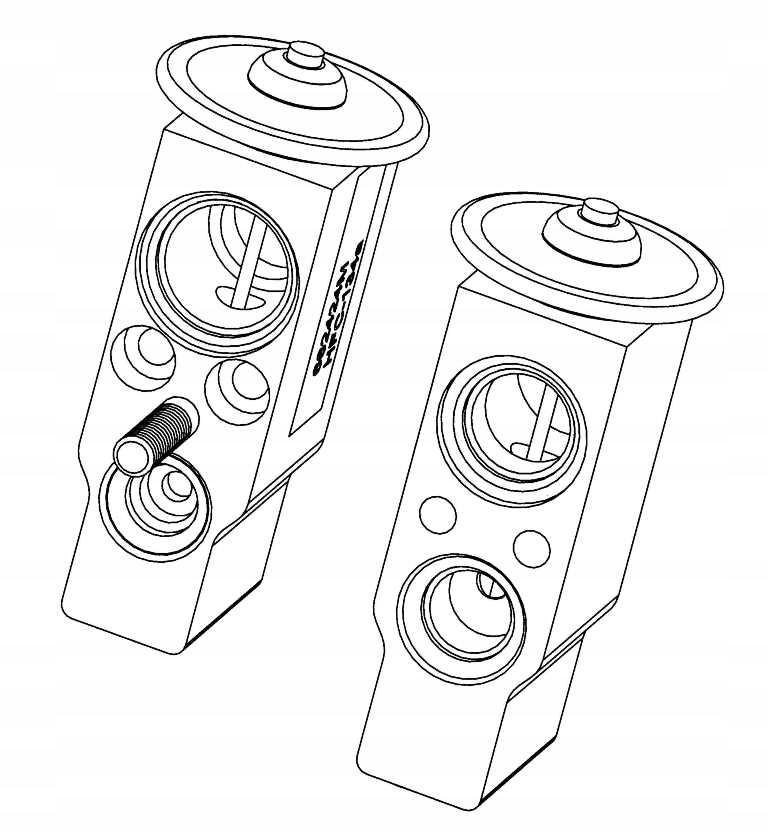 клапан расширительный mercedes sprinter 95-06