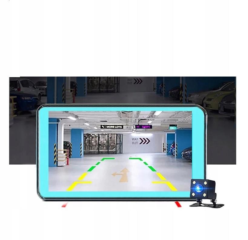 Video Rejestrator Jazdy Kamera samochodowa cofania Złącza czytnik kart pamięci miniUSB