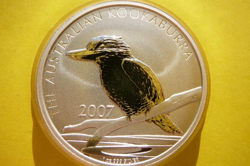 1 $ AUSTRÁLIA 2007-VTÁK COOKBURR-SILVER 999-OZ