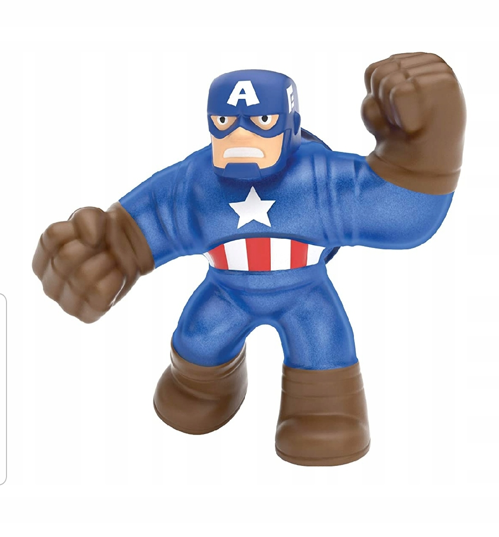 Heroes of Goo Jit Zu Superhrdinovia Captain America