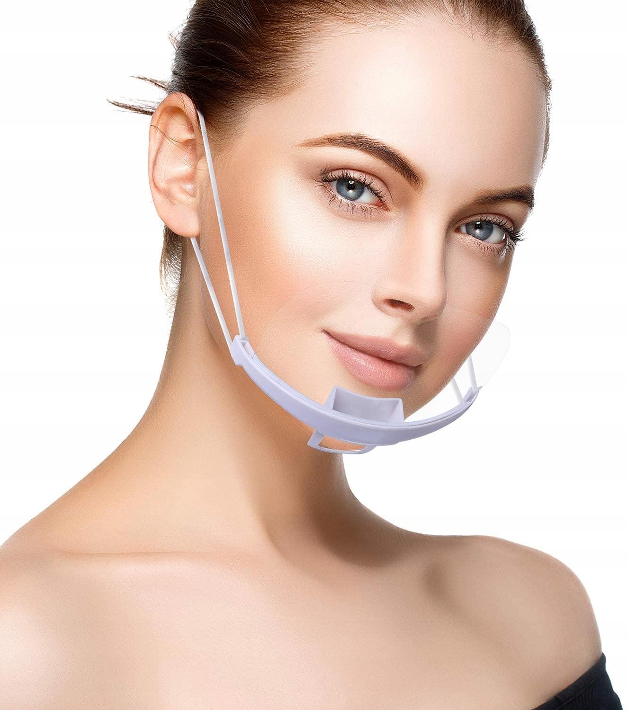 Прозрачная маска Санитарно-защитный козырек