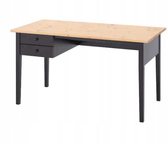 Икеа АРКЕЛСТОРП Письменный стол, Черный 140x70 см