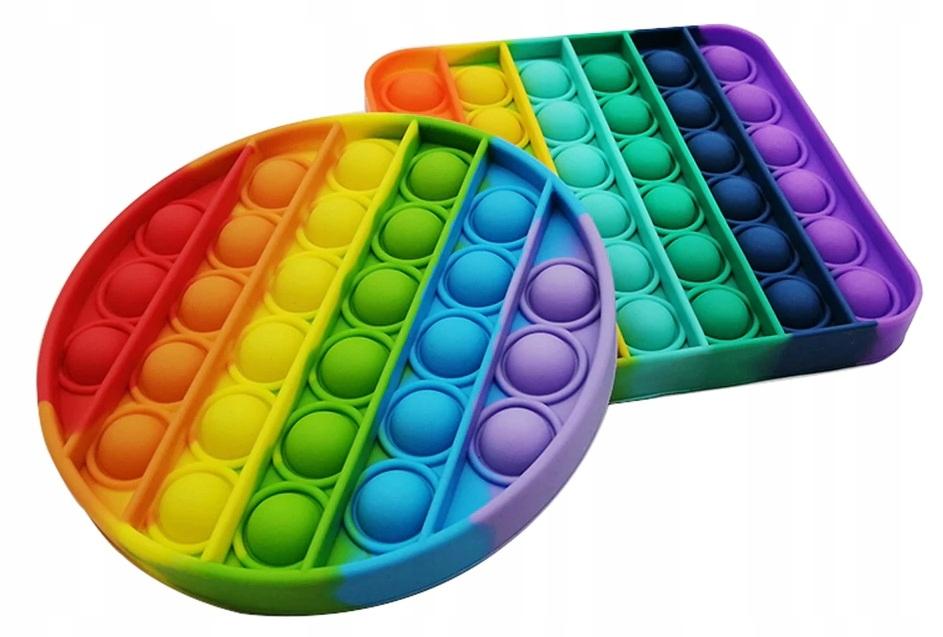 Push Bubble Pop It Zabawka Sensoryczna Anty Stres