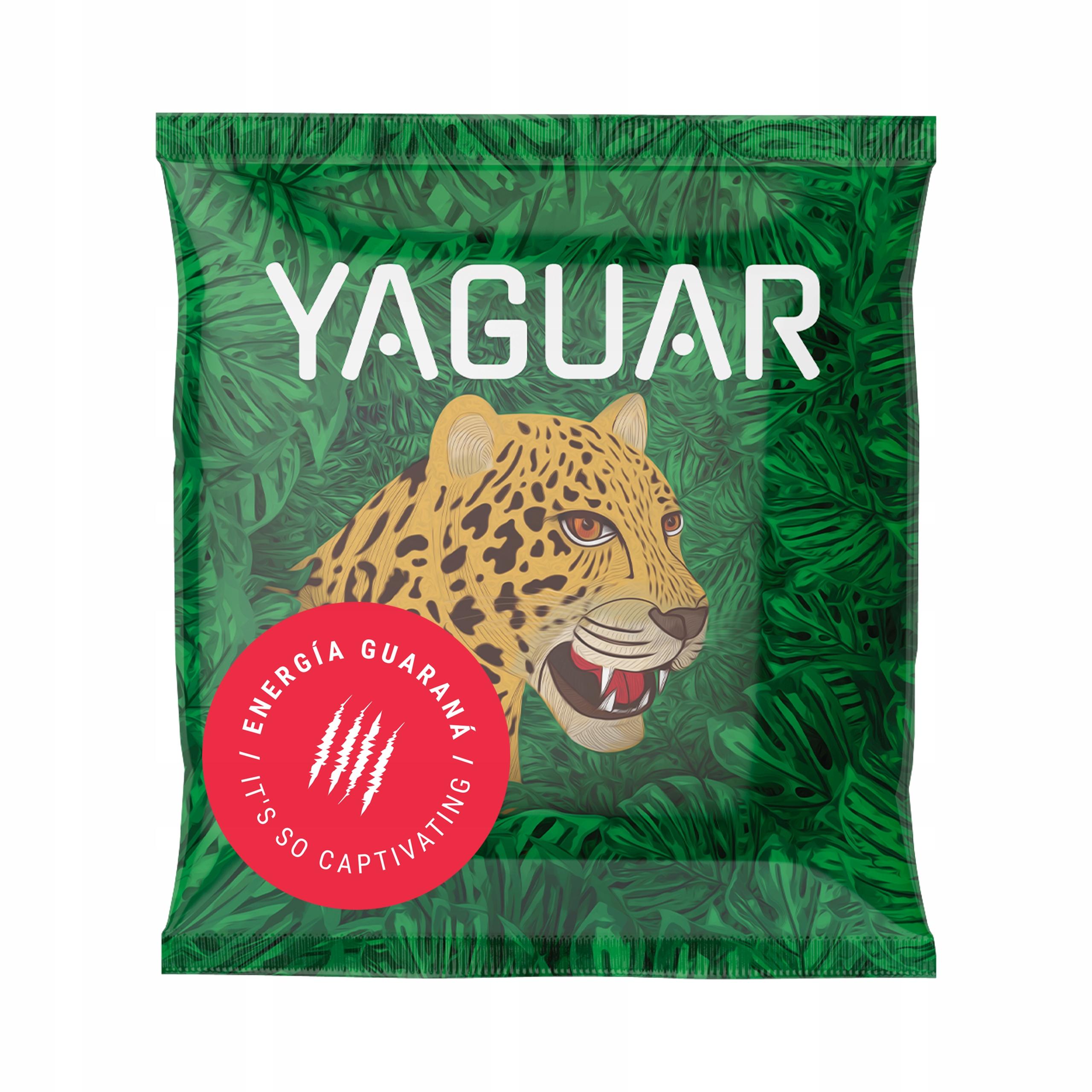 Próbka yerba mate Yaguar Energia Guarana 50g