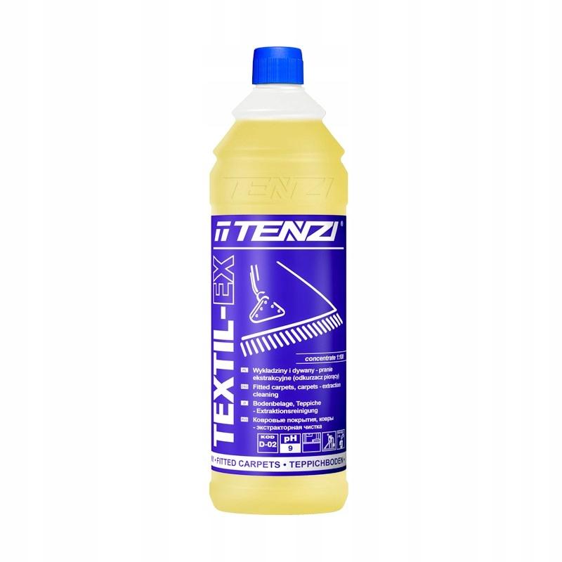 Жидкость для стирки ковровых покрытий TEXTIL-EX TENZI пылесос