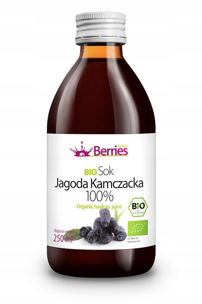 BIO Jagoda Kamczacka 100% sok ekologiczny 250 ml
