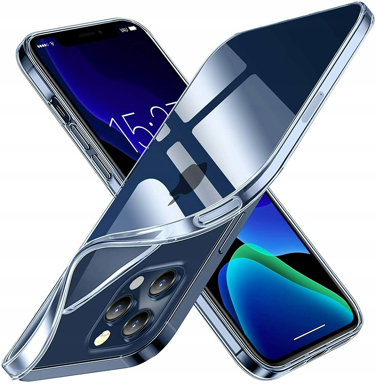 Slank CASE CLEAR + Glassveske til IPHONE 12 PRO MAX