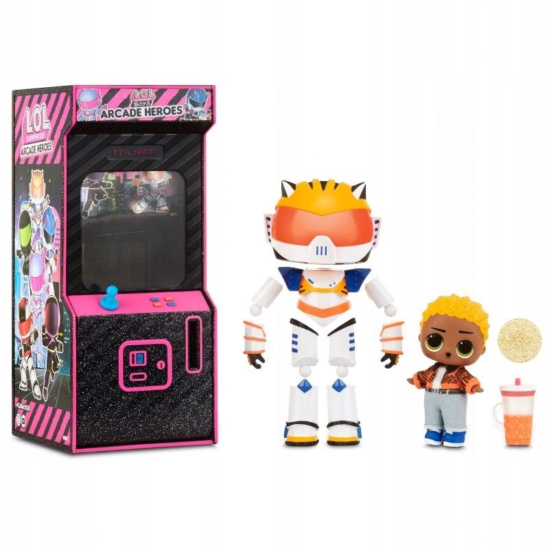 L.O.L Surprise Boys Arcade Heroes Cool Cat Doll w
