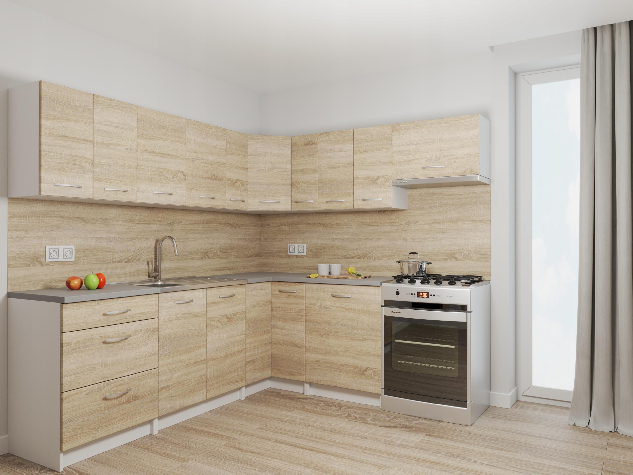 Набор кухонной мебели Rodos Sonoma + COUNTERTOP