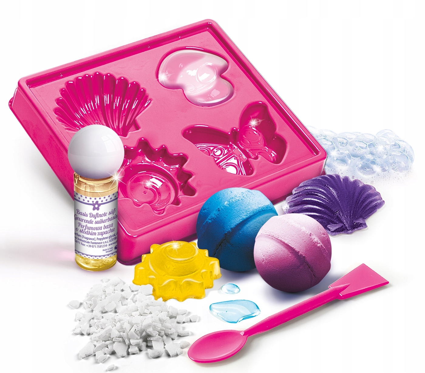 Stwórz laboratorium mydlarskie Clementoni 60949 Bohater brak
