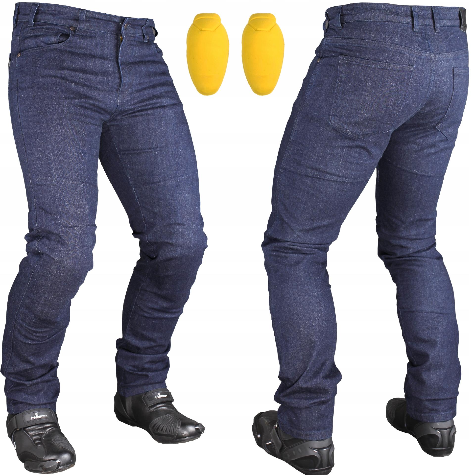 MOTORCYCLE JEANS Кевларовые брюки + протекторы