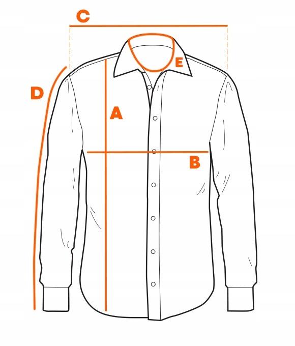 Koszula męska z krótkim rękawem K541 granatowa S 9272108908  zXnFk