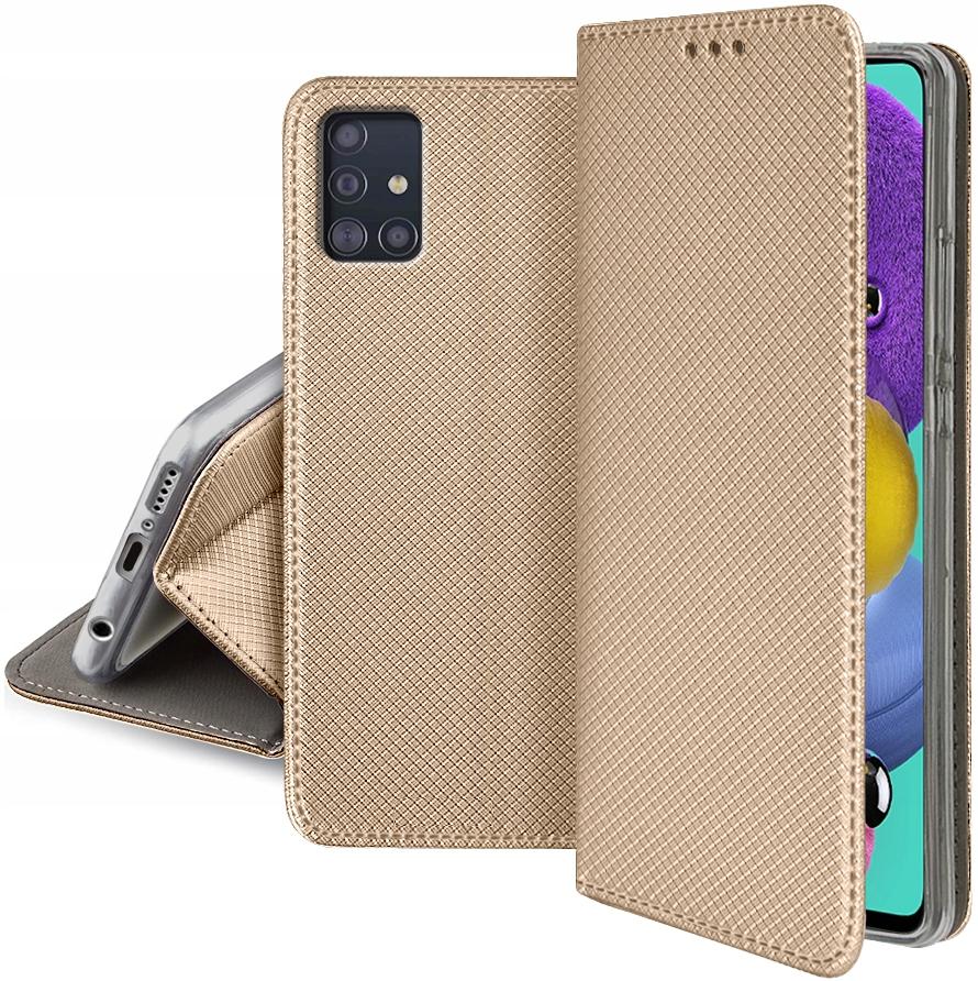 Etui SMART MAGNET + SZKŁO 9H do Samsung Galaxy A71