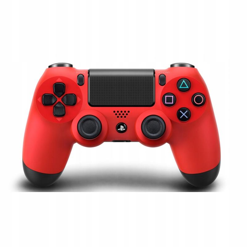 Item PAD FOR PS4 DUALSHOCK 4 SLIM PRO RED ORIGINAL