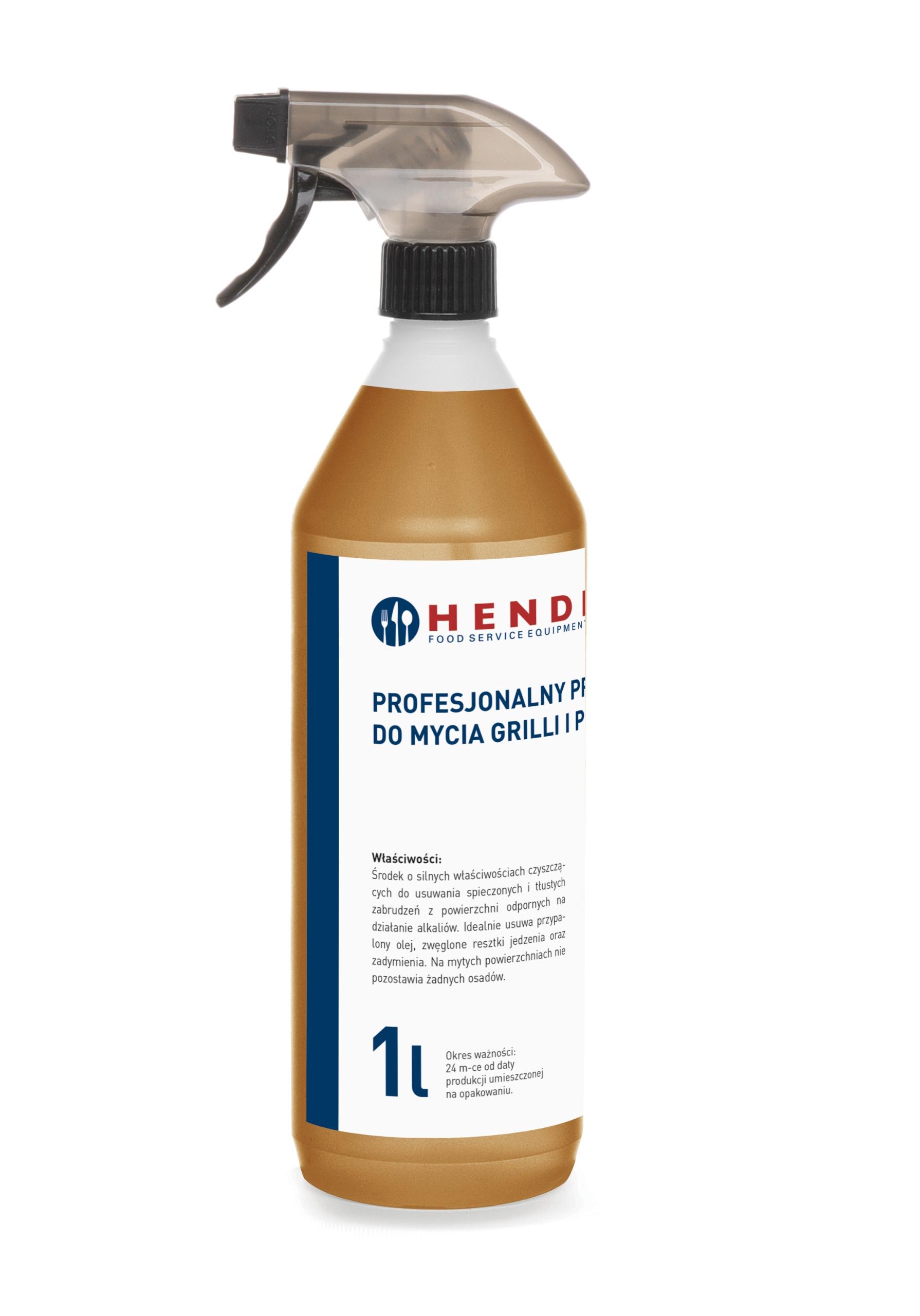 Жидкий препарат для чистки грилей и печей - HENDI