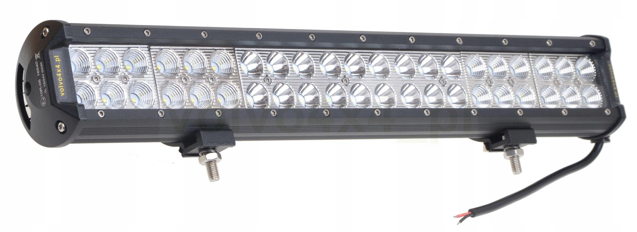 лампа панель планка led 126w flood+spot комбо mix