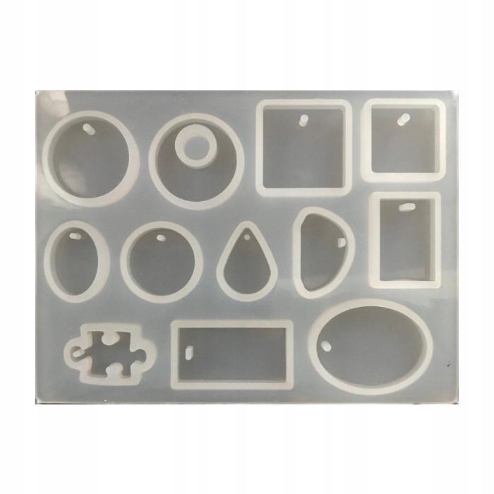 FS-22A Forma silikonowa do żywicy 147x123mm mix