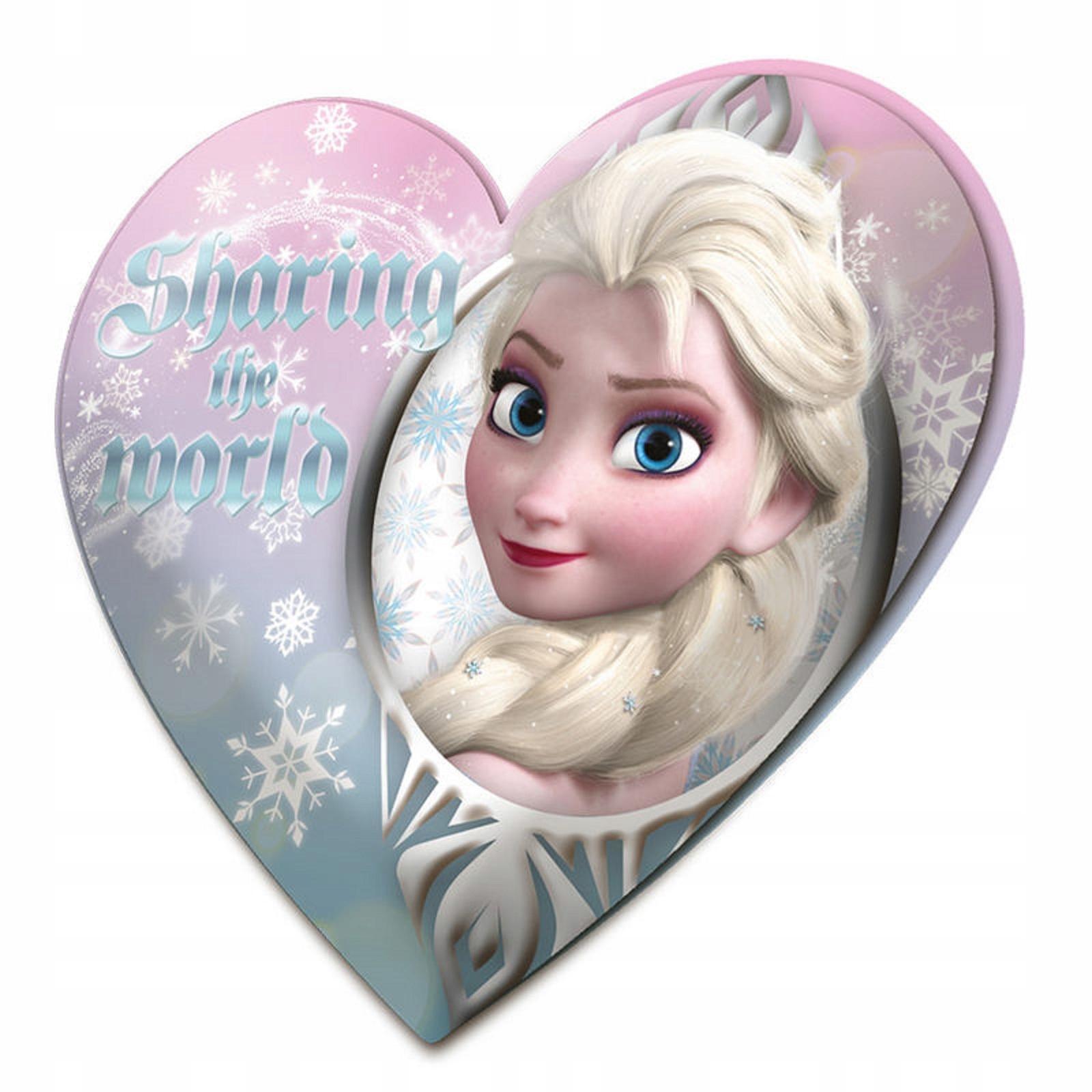 Vankúš Frozen Frozen 46 cm Veľké srdce
