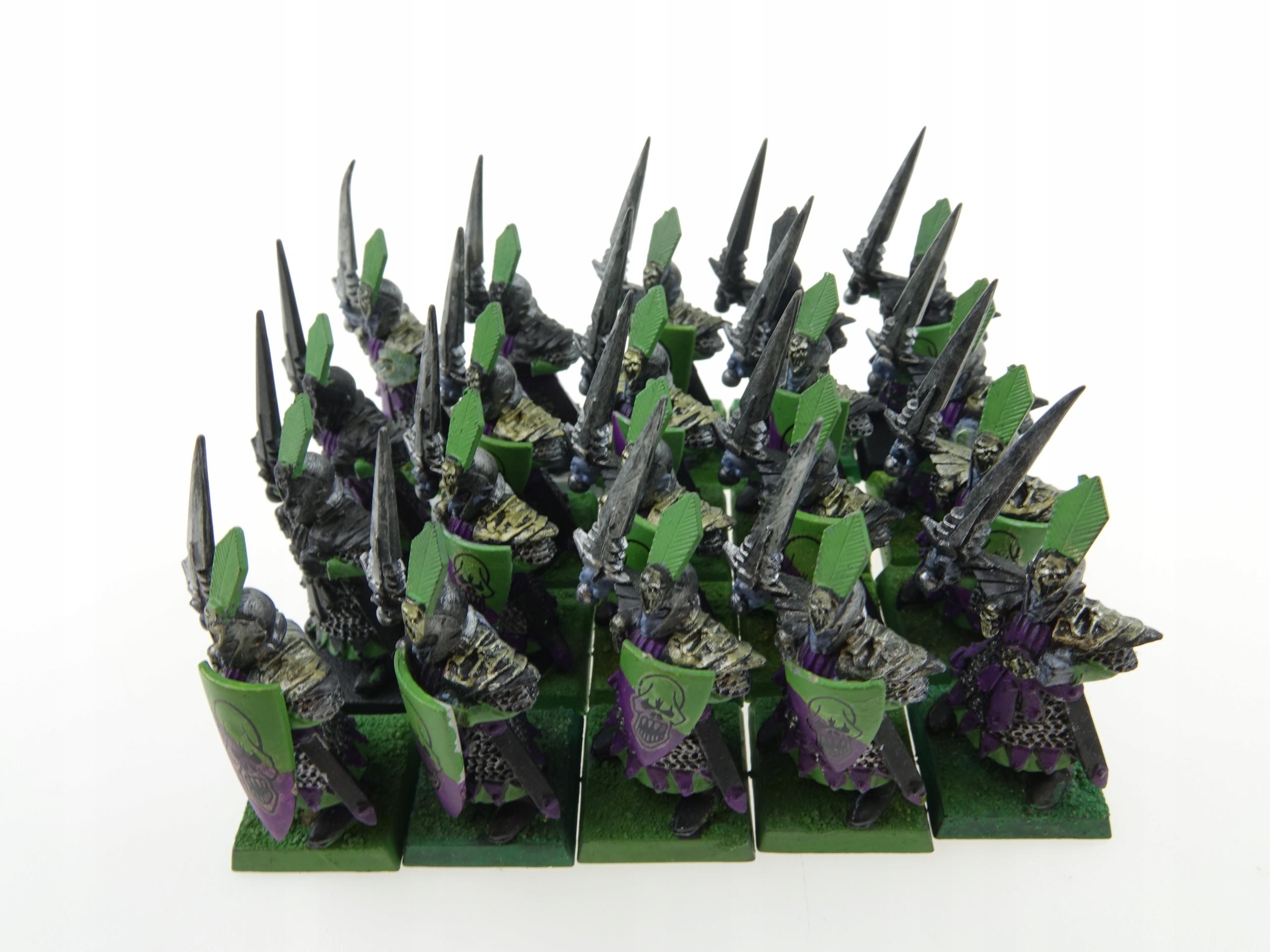 Warhammer Dark Elf Warriors Nastavili 20 obrázkov