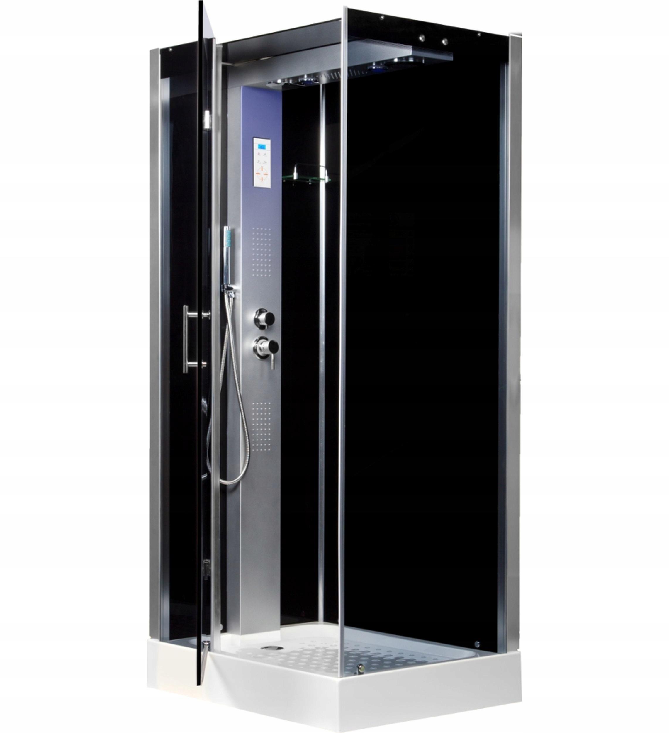 Hydromasážna kabína - sprchová vanička TWIN L 100x80 KERRA