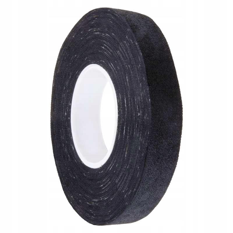 Изоляционная лента текстиль 15мм / 15m черная