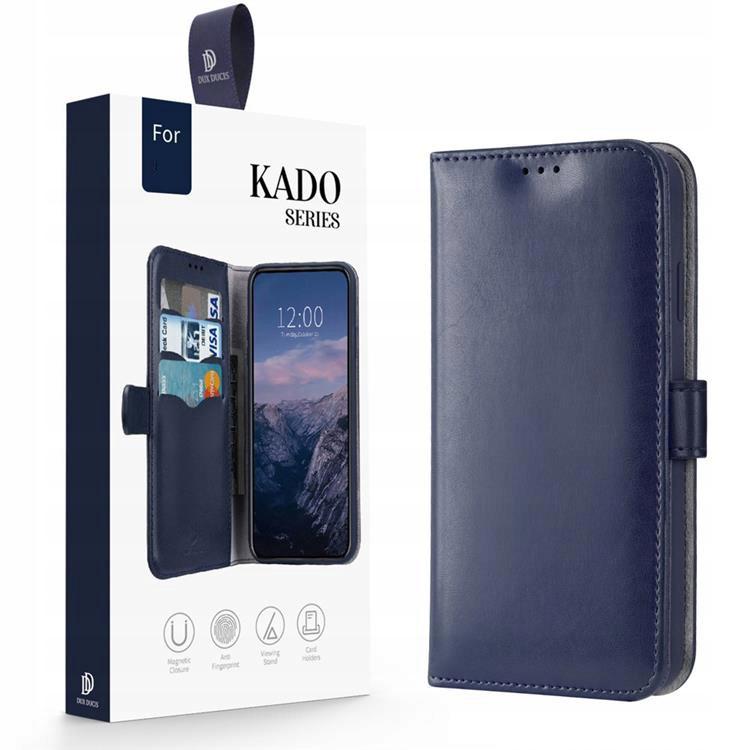 Etui Dux Ducis Kado do iPhone 12 Mini niebieski Funkcje ładowanie indukcyjne pochłanianie wstrząsów