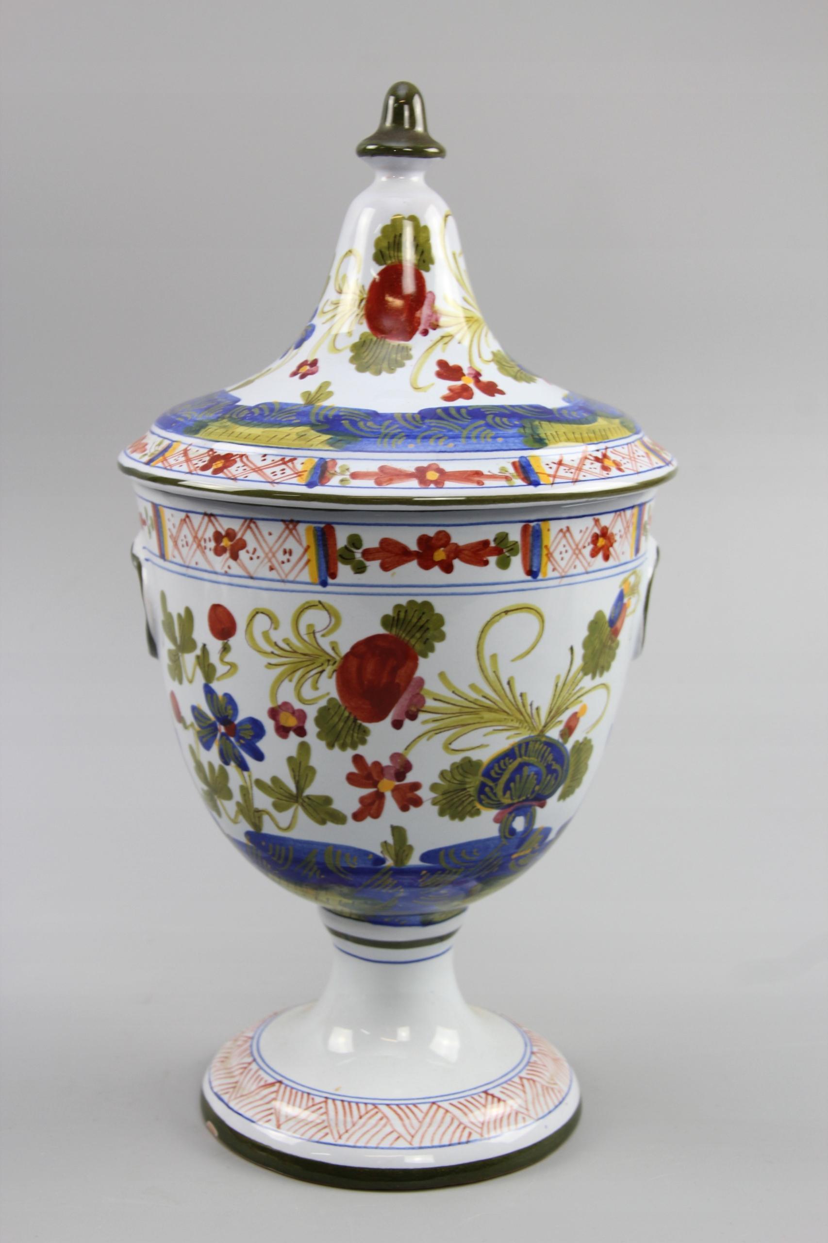 =ARTexpert= Ceramiczny wazon urna