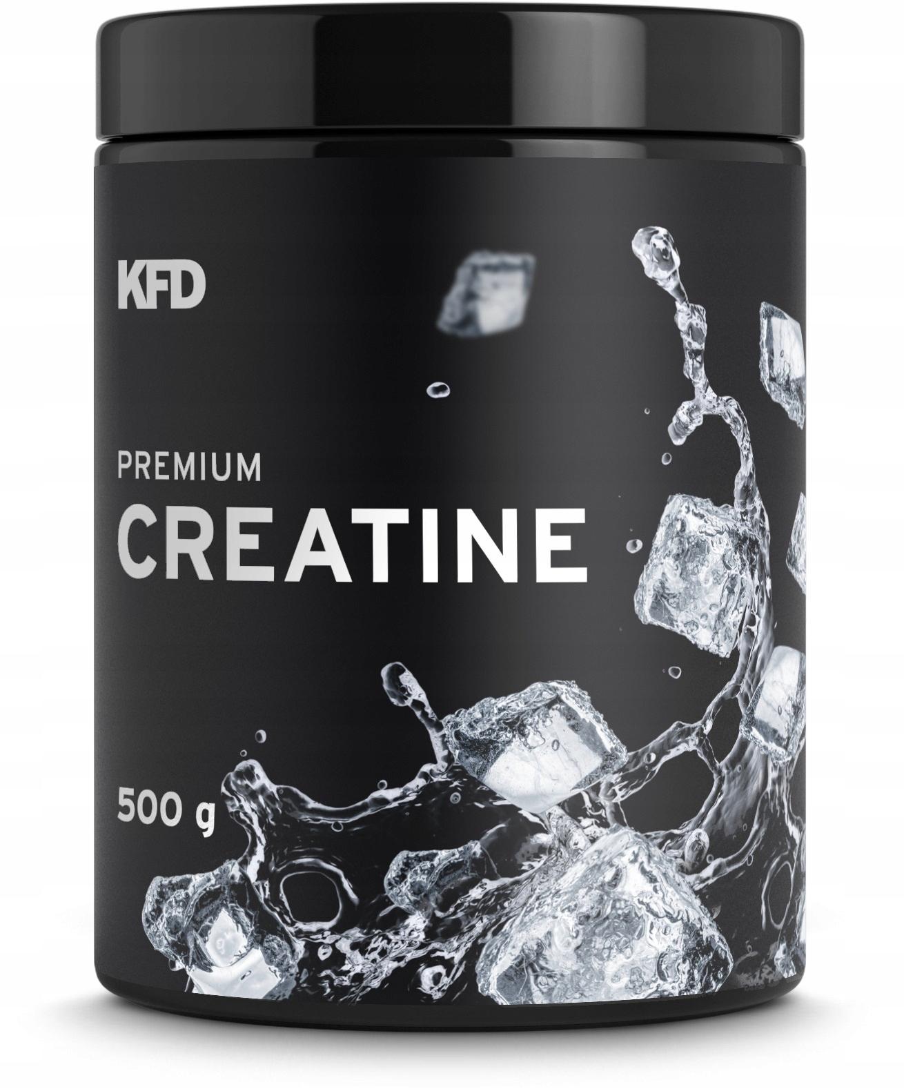 KFD PREMIUM CREATINE 500G KREATYNA MONOHYDRAT NAT