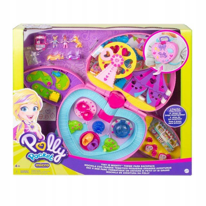 Vreckový batoh Mattel Polly GKL60