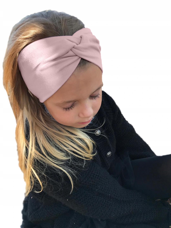 Повязка на голову детская тканая, обхват головы 48-51