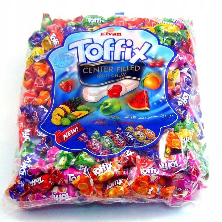 Фруктовые конфеты Тоффикс с соком Элеван 1кг
