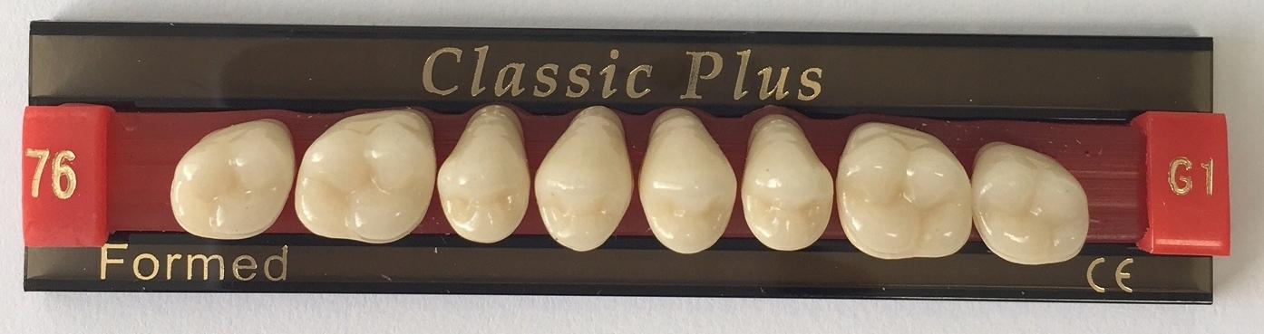 Classic Plus трехслойный акрил ЗУБЫ (76) G1