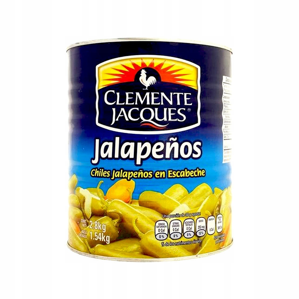 Купить Meksykańska Papryka Jalapeno Cała w Zalewie 2,8kg на Otpravka - цены и фото - доставка из Польши и стран Европы в Украину.