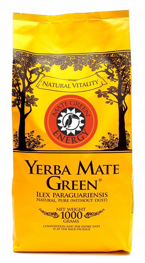 Yerba Mate Green ENERGY - 1kg - Despalada sin palo
