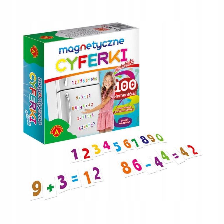 МАГНИТНЫЕ ЦИФРЫ Обучающие магниты для детей