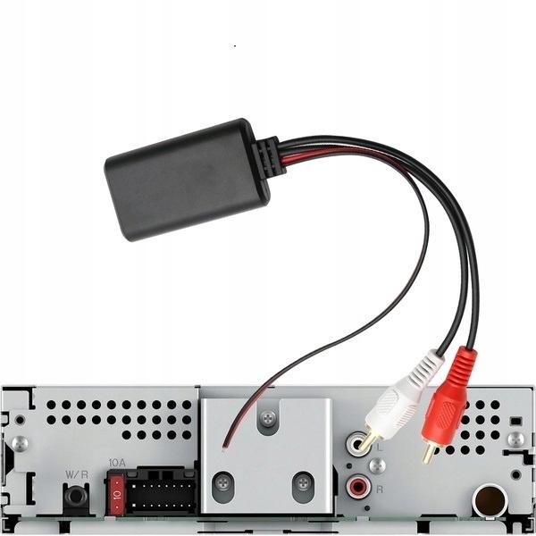 адаптер bluetooth к радио автомобильного rca aux