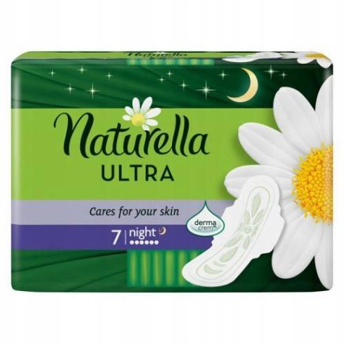 Podpaski Naturella Ultra 7 night