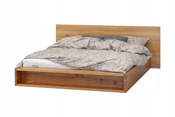 Drevená posteľ METRO RETRO s úložným priestorom 140x200