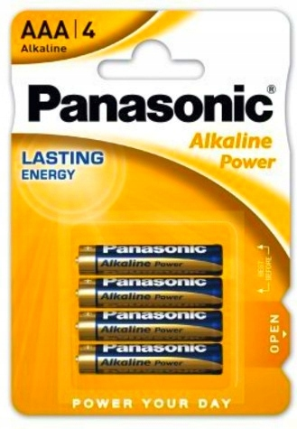 Купить Батарейка PANASONIC LR03 AAA 1,5 В щелочная 1 шт. на Otpravka - цены и фото - доставка из Польши и стран Европы в Украину.