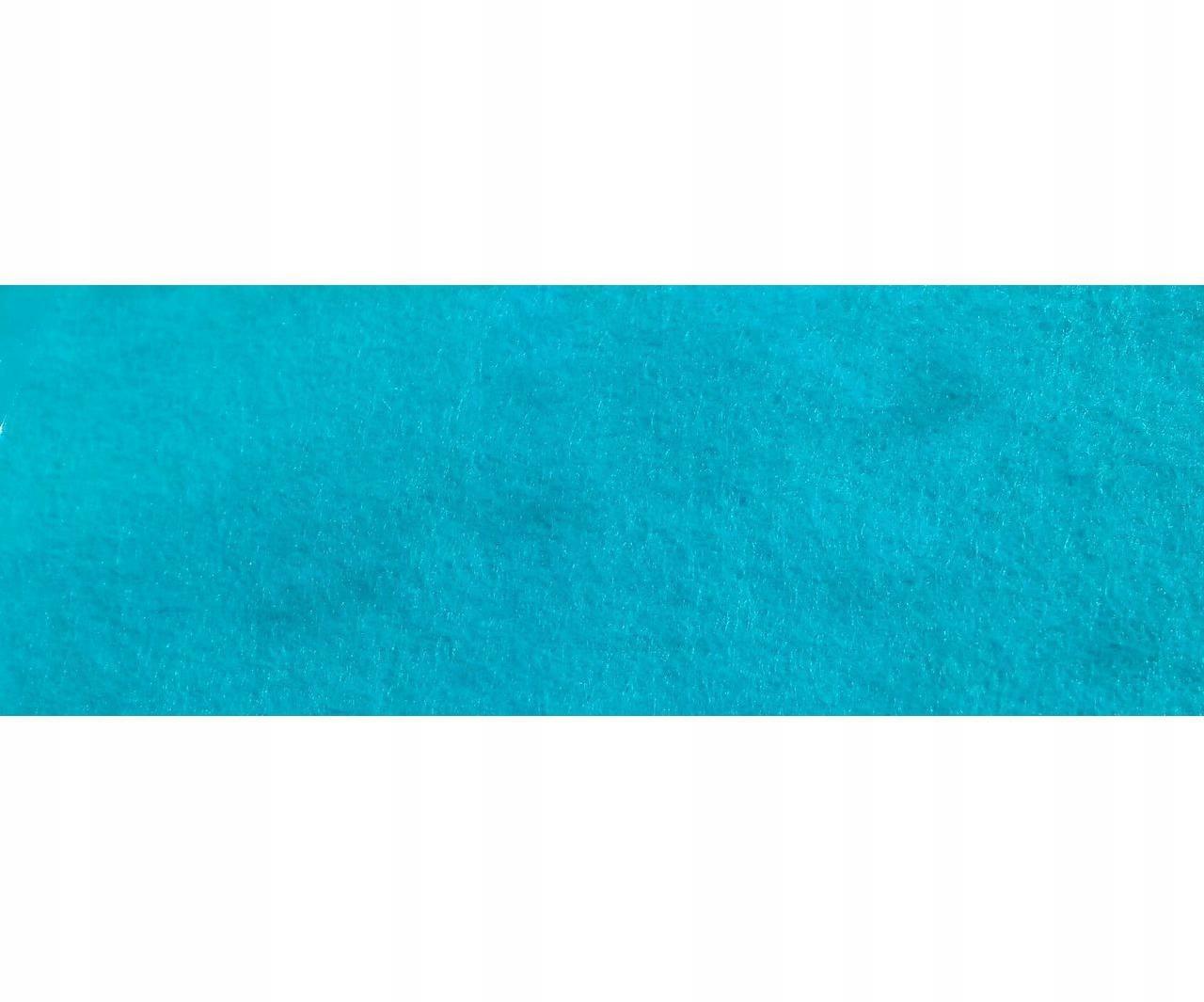 10 szt igły filcu 20x30 cm turkus tkaniny filc